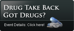 drug take back button