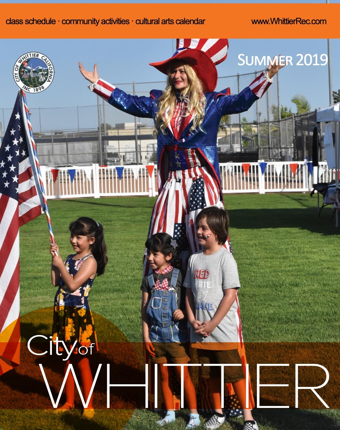 Brochure Summer 2019 Cover