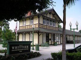 The Whittier Historic Depot Transportation Center