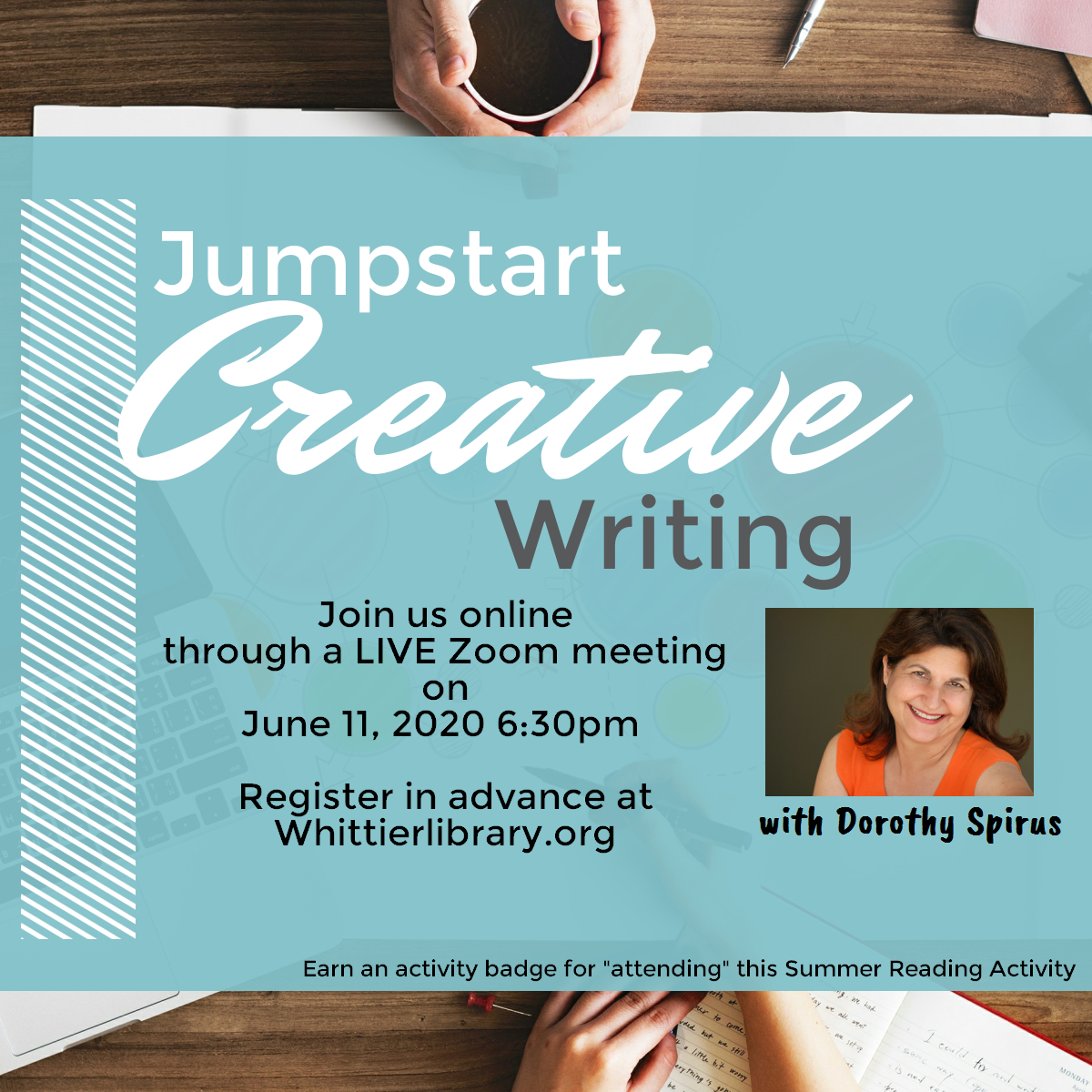 Creative Jumpstart Writing with Dorothy Spirus