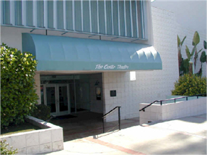 front of Whittier Centre Theatre