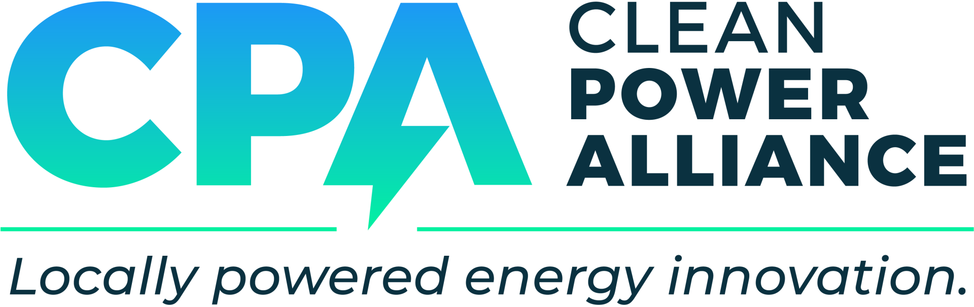 Clean Power Alliance Logo - Locally powered energy innovation